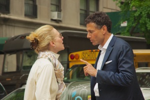 New Yorkers don't have screaming matches, but they have serious conversations...